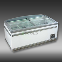 600 - 1000 LITERS GLASS LID SUPERMARKET COMMERCIAL FREEZER