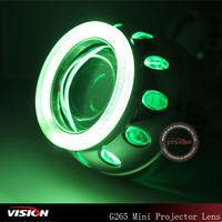New style motorcycle hid H1 projector lens light kit xenon for headlight projector