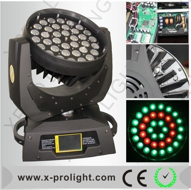 China Bee Equipment stage light 36pcs led wash moving head lighting
