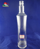 Competitive price customized sizes vodka bottle