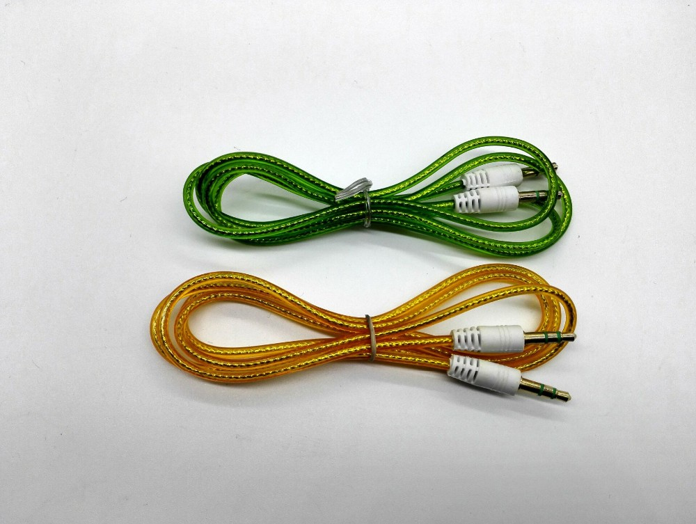 3.5mm Jack Extension Car Audio Adapter For Mp3 CellPhone Headphone 1 Male To 2