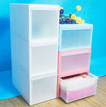 Folding Easy To Transport Baby Plastic Drawer Plastic Drawer Cabinet