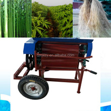 500-600kg per hour hemp harvester /hemp decorticator / flax braker