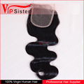 Top quality brazilian hair closure cheap brazilian human virgin hair bundles body wave lace closure
