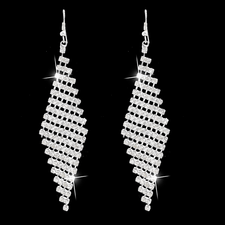 Fashion Luxurious Diamond Drop <strong>Earring</strong> Wholesales