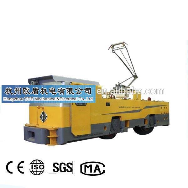 55 ton electric locomotive for big mines