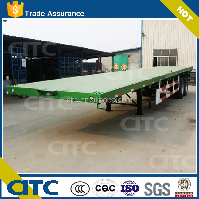 CITC brand flatbed container semi trailer, container transport homes for sale