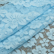 Wholesale Cotton Embroidery Lace Fabric , Cotton Lace T/C Lace