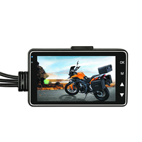 3 inch Mini Full HD 720P Motorcycle Camera DVR Dash Cam with Specialized Dual-track Front Rear Recorder Motorbike Electronics