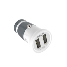 Cell Phone Accessories Manufacturer DC 17W 3.4A Double Port Wholesale Micro USB Mini Phone Car Charger