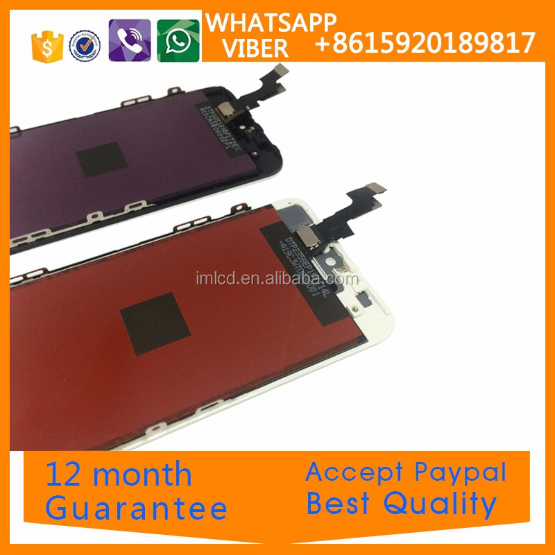100% guarantee display assembly original lcd for iPhone 5s accept PayPal