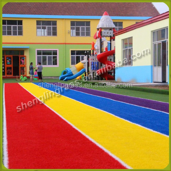 NY0522281 five colors sweet synthetic grass running track