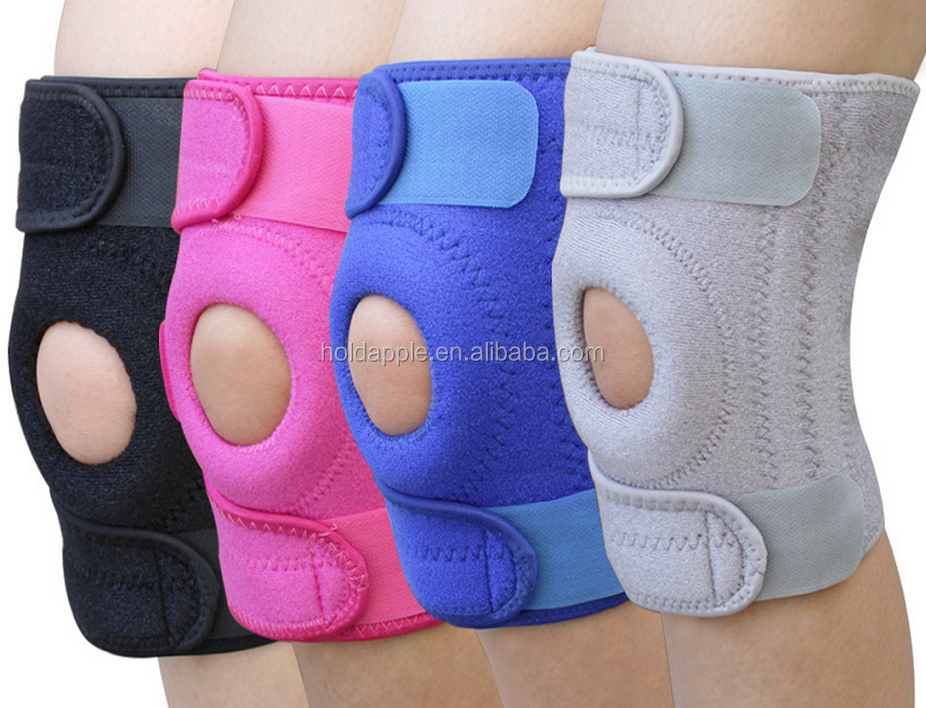 Knee Brace Support Protector - Relieves Patella Tendonitis - Jumpers Knee Mensicus Tear - ACL Lateral & Medial Ligament Sprains