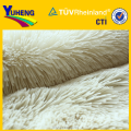 polyester knitted pv plush fabric /Long Pile Fabric