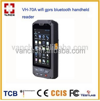 IP65 Android Rugged handheld pda with uhf rfid and barcode scanner reader