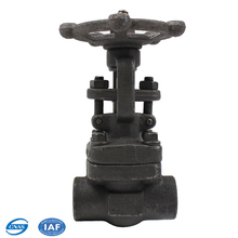 DN80 DN300 ASTM a216 wcb flanged gate valve butt welded