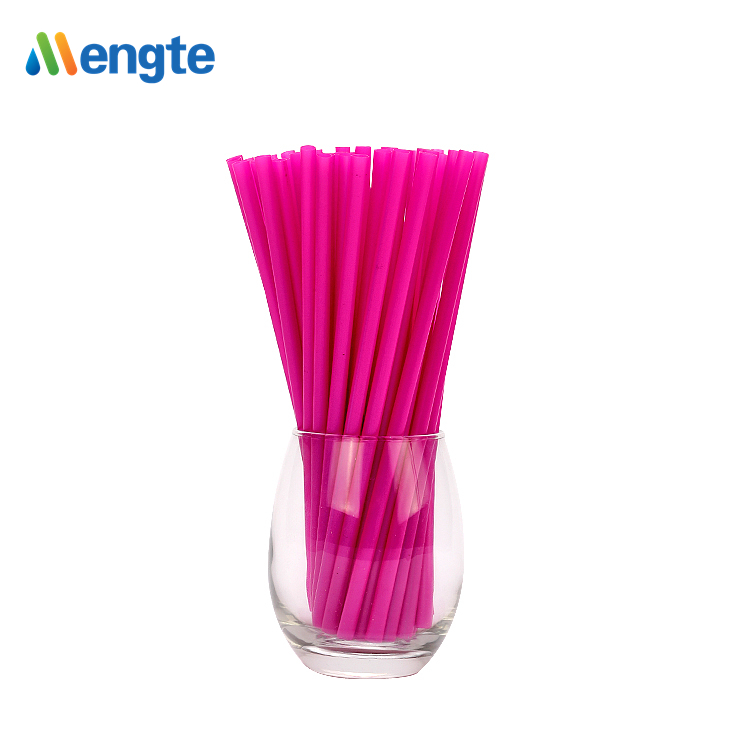 Customized logo made Natural Eco-friendly Cornstarch PLA Drinking Straws Biodegradable Straws