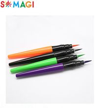 High quality water color brush tip marker set in 12 rich color brush marker pens for For Manga,Artwork,Kids,Adult Coloring