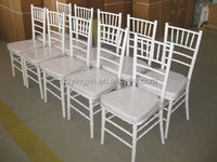 wholesale dining used white wedding chiavari chair