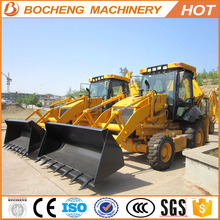 55KW 8200KG WZ30-25 1.0CBM wing-shaped outriggers new 4wd with pallet forklift hyundai backhoe loader
