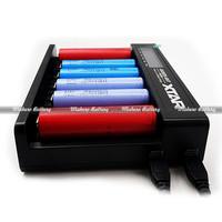 XTAR MC6 six bays li-ion batteries 18650 usb 3 stage battery charger