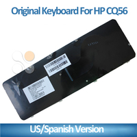 laptop Spanish keyboard for HP CQ62 G62 CQ56 laptop keyboard for HP non-refurbished new Replace authentic