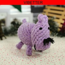 CT-011 Hippo Shape Soft Sex Dog Toys Girl Eco-Friendly Pet Products Pet Suppliers Pet Toy China Import Toy