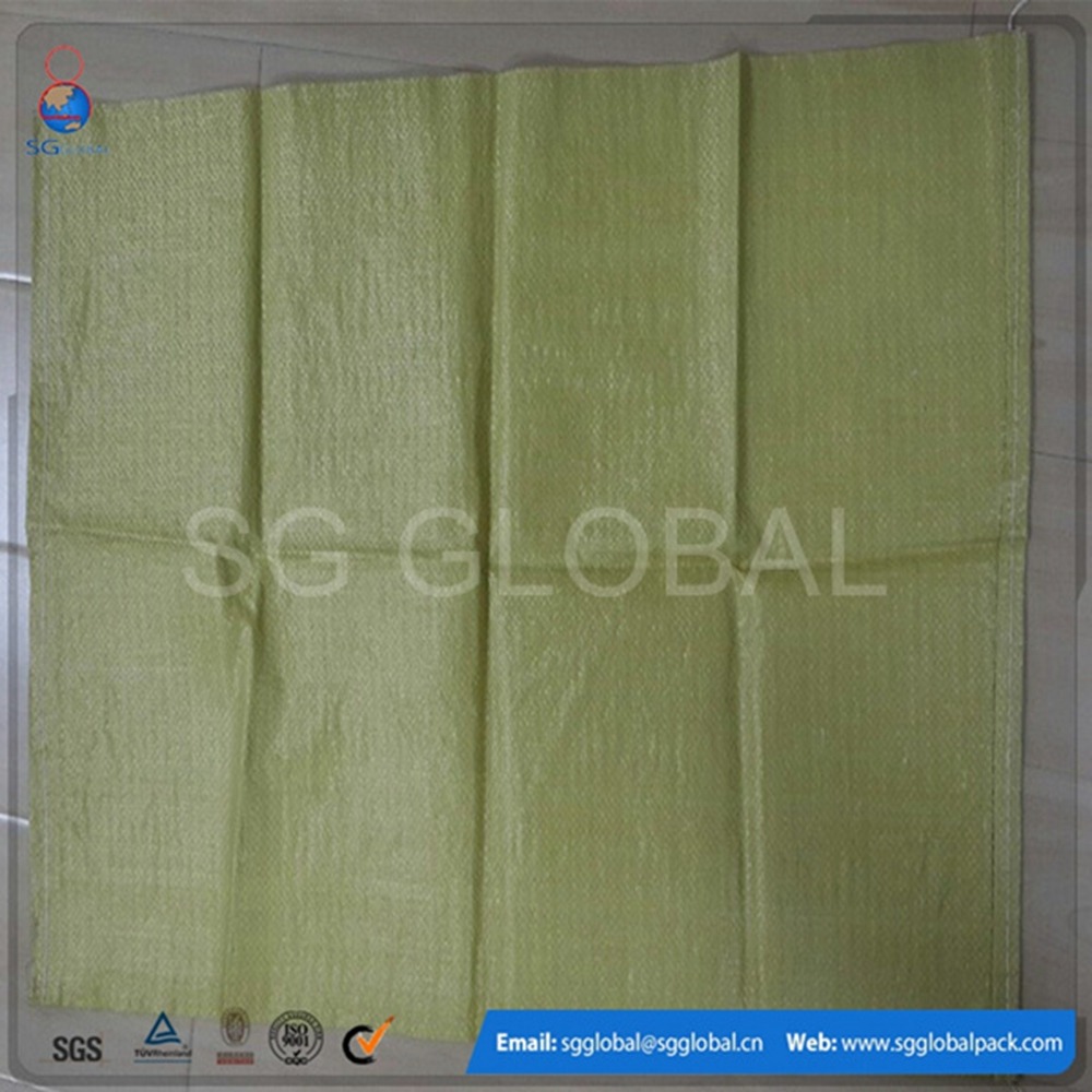 Recycled rice bulk raffia polypropylene bags 50 kg for wholesale alibaba china