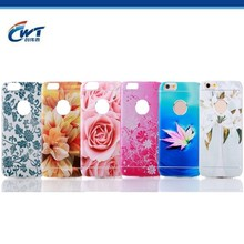 Wholesale from mold factory OEM/ODM up-market landscape metal aluminum mobile phone case
