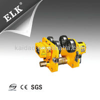 electric beam trolley for 5T electric hoist,electric hoist components