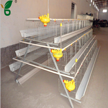 poultry farm Q235 galvanized steel big cages for birds