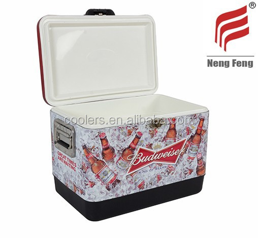 54 quart Stainless steel chilly bin icebox ice chest ice cooler box