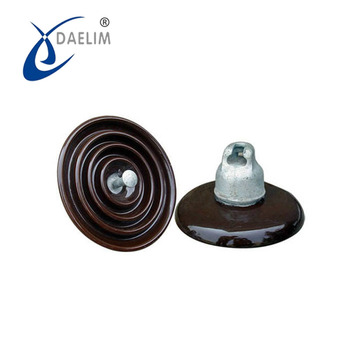 ISO9001 22kv porcelain line post insulator for high voltage