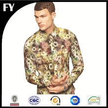 Factory Custom Digital Print Wholesale Shirting Fabric