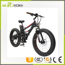 Wholesale The Lowest Price FATBIKE Fat bike 26 inch Fat Tire ebicycle Snow EBike For Sale
