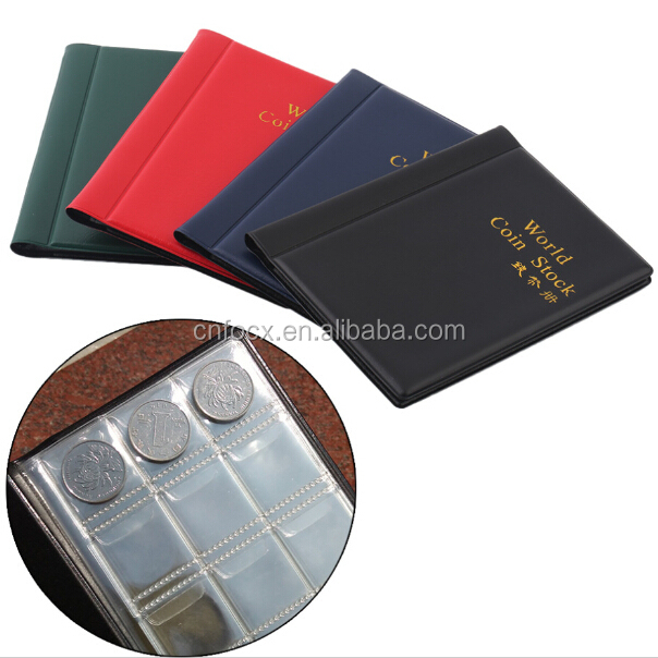 NEW Quality Coin Collection Volume / Coin Folder Hold / coin storage