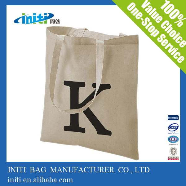 Quality cotton canvas bags | wholesale standard size shopping totes bag