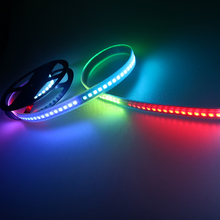 35W 144 pixels/M WS2811 WS2812B dmx & artnet compatible Digital addressable rgb led flexible strips