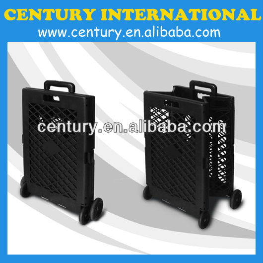 Plastic shopping trolley, Folding shopping trolley, Foldable shopping carts