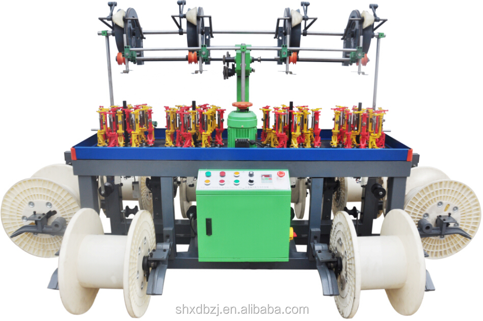 16 Spindle Copper Wire And Cable Braiding Machine XD90-16D-4T