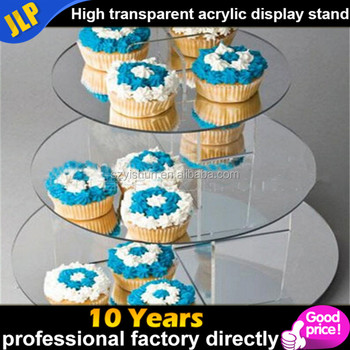 Custom creative acrylic cake display/dessert display shelf