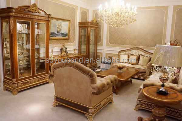 0062 Royal furniture classic sofa set home furniture Italian antique living  room furniture - 0062 Royal Furniture Classic Sofa Set Home Furniture Italian Antique