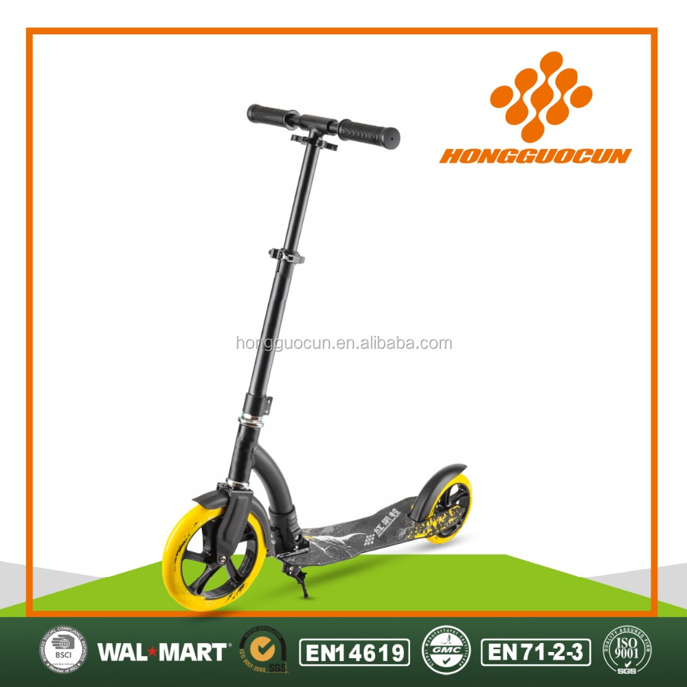 Hot sale New design 8 inch large wheel foldable adult kick scooter