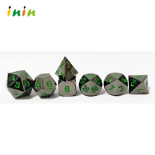 2018 New Design High Quality Wholesale Metal Game Dice