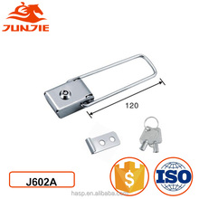 Marine stainless steel latch toggle lock for mini latch J602A