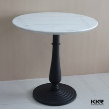 Coffee shop tables and chairs,round marble top coffee table