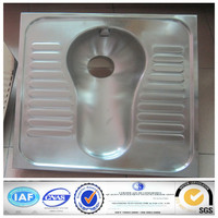 Stainless steel P-trap toilet / Sanitary wares