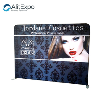 High Quality Straight type tension fabric trade show backdrop Backwall