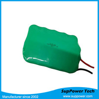 rechargeable 9v batteries deep cycle battery pack SC size e-hookah rechargeable battery 3600mah