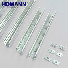 Galvanized Slotted Solar Panel Support C Channel
